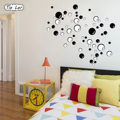 TIE LER Nursery Kitchen Bathroom Bubble Wall Sticker Removable Waterproofing Home Wall Decal PVC Wall Sticker. If You get more ideas click picture .