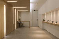 Tudualsim Store by ana muñoz, via Behance Interior Architecture, Interior Design, Lobbies, My Design, Sweet Home, Store, Projects, Valencia, Furniture