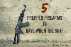 In a dire SHTF scenario, having an ability to defend oneself is what will set you apart from the others. These are the firearms you want on you!