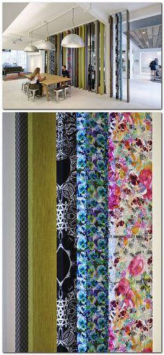 division paneles verticales texturizados en ASOS workplace by Morey Smith