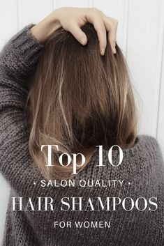 We checked out the most luxurious hair brands on the market for our Top 10 absol… We checked out the most luxurious hair brands on the market for our Top 10 absolute favorite salon quality shampoos for all different types of women's hair. Dry Brittle Hair, Ag Hair Products, Hair Care Brands, Healthy Hair Tips, Spring Hairstyles, Hair Remedies, Hair Blog, Hair Shampoo, Shampoos