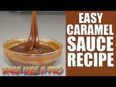 Easy Caramel Sauce Recipe -NO FAIL ! - YouTube