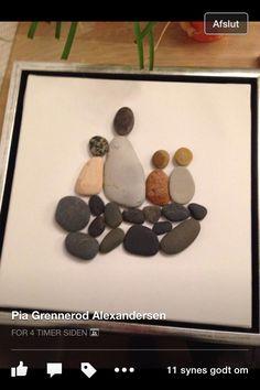 Børn og sten