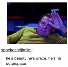 Combining Star Trek in Miss Congeniality! This is perfect!