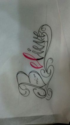 New Believe tattoo