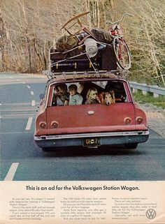 Actually, if you owned a VW you'd still have this much stuff to move, only you'd be broken down beside the road - former VW owner.