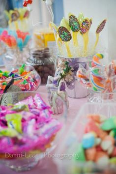 fairy on candy table