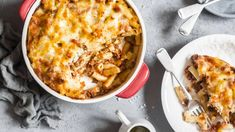 Zapekané cestoviny bolognese | Recepty.sk Cheeseburger Chowder, Macaroni And Cheese, Soup, Ethnic Recipes, Bolognese, Lasagna, Mac And Cheese, Soups