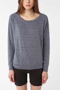 Alternative Slouchy Pullover Sweatshirt - I want to live in this and skinny jeans. And boots. WHERE IS FALL?