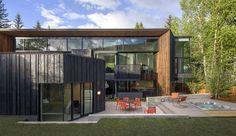 Architecture astucieuse pour maison bois contemporaine dans l'État du Colorado, une-Blackbird-House-par-Will-Bruder-Architects #construiretendance