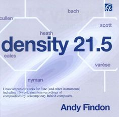 Density 21.5: Unaccompanied Works for Flute (And Other Instruments) [CD]