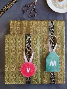 DIY Soap Gift Tags / Pakettikortit saippuasta