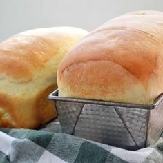 Nothing better than homemade bread warm and fresh from the oven.