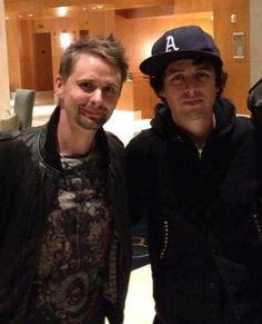 BJA and Matt Bellamy from Muse ..