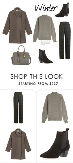 """""""187"""" by meldiana ❤ liked on Polyvore featuring Maison Margiela, AG Adriano Goldschmied, Gérard Darel, Aquatalia by Marvin K. and Alexander McQueen"""