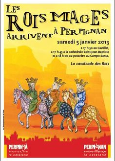 Les rois mages arrivent à Perpignan le 5 janvier 2013 ...