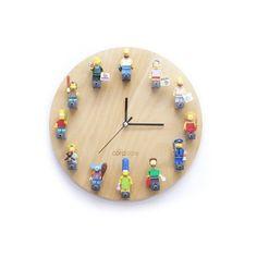 코드에이블 LEGO 미니피규어 DIY 벽시계 (원형)