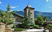 Casa de la Vall, Andorran Parliament where two co-princes rule.