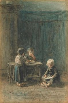Buy online, view images and see past prices for Jozef Israëls Dutch THE HAPPY FAMILY; Invaluable is the world's largest marketplace for art, antiques, and collectibles. Baby Painting, Impressionist Artists, Painting People, Dutch Painters, Dutch Artists, Victorian Art, Paintings I Love, Abandoned Castles, Abandoned Mansions
