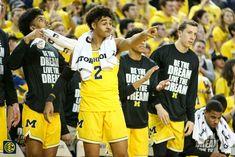 Michigan Athletics, Michigan Wolverines, Team Goals, Go Blue, College Basketball, Athlete, Football, Big, Sports