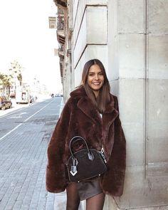 The Kooples, Fur Coat, Fur Jacket, Beautiful, Jackets, Fashion Trends, Bags, Instagram, Style