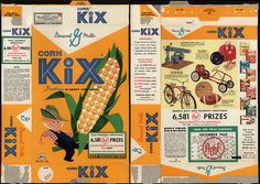 General Mills - Corn Kix - farmer - AMF Daily Goodness Sweepstakes - cereal box - 1960 | Flickr - Photo Sharing!
