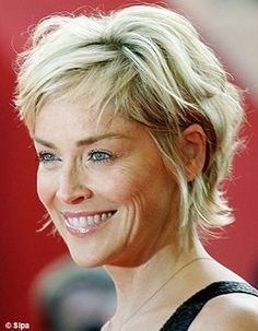 Image result for sharon stone stunning hair