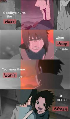 T Goodbye Itachi T.T Goodbye Itachi You are in the right place about Anime Qu.T Goodbye Itachi T.T Goodbye Itachi You are in the right place about Anime Quotes inspirational - Anime Naruto, Naruto Sad, Naruto Facts, Naruto Comic, Naruto Funny, Anime Manga, Itachi Uchiha, Naruto Sasuke Sakura, Naruto Shippuden Anime