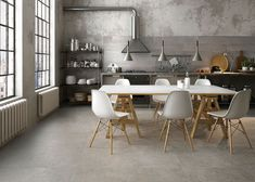 Color Moods' harmony of neutral hues inspired by natural surfaces offers a vast range of opportunities for customising the home with Porcelaingres porcelain surfaces. States of mind and perceptions linked with colour come to life in a collection designed to thrill and express personal style and character