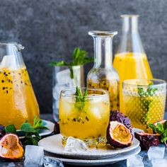 Enjoy as an alcohol free drink or add a shot or gin for a great little cocktail! Fruit Champagne, Sugar Crystals, Cocktails, Drinks, Cordial, Summer Heat, Fruit And Veg, Alcohol Free, Gin
