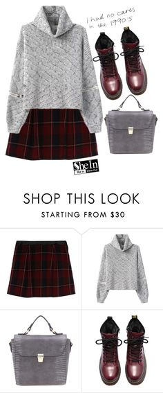 """""""#SheIn"""" by credentovideos ❤ liked on Polyvore featuring Naf Naf"""