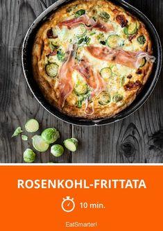 Rosenkohl-Frittata - smarter - Zeit: 10 Min. | eatsmarter.de