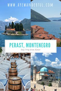 Things to do in Perast, a tiny but picturesque little town nestled in the stunning Bay of Kotor in Montenegro and an ideal day trip from Kotor. Montenegro Travel, Albania Travel, Slovenia Travel, European Travel, European Trips, European Countries, Travel Europe, Travel Packing, Croatia Travel Guide