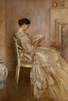 Lady Stirling-Maxwell (1908). James Guthrie (Scottish, 1859-1930). Oil on canvas. Glasgow Museums