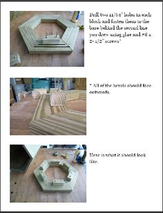 Lawn Lighthouse DIY Wood Plans. How to build a wooden lighthouse.