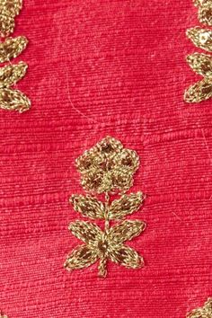 dupion blended silk strawberry pink fabric