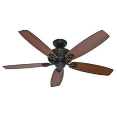 "52"" Markham 5-Blade Ceiling Fan  by  Hunter Fan"