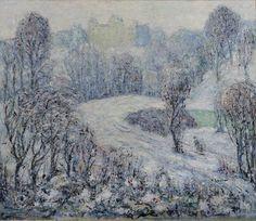 Ernest Lawson (1873-1939) - Central Park, c.1910