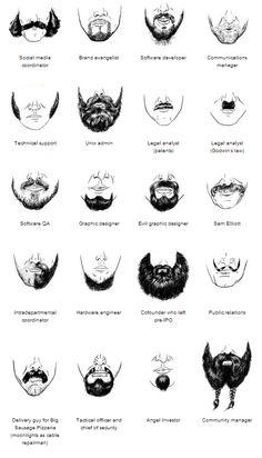 Beard Taxonomy, from Wired http://www.wired.com/wiredenterprise/2012/11/20-12-st_beardtaxonomy/
