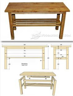 Build Coffee Table Furniture Plans And Projects Woodarchivist Com