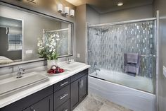 Regency Square, a KB Home Community in Hayward, CA (Bay Area) Bathroom Cabinets, Bathroom Fixtures, Bathroom Vanities, South Bay Area, Kb Homes, Modern Vanity, Cabinet Makers, New Homes For Sale, Custom Cabinets