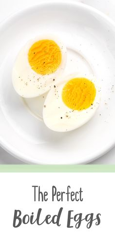 Eggs are probably one of the most common ingredients for many healthy eating recipes. Cooking eggs may seem like an easy task, but eggs are delicate— they can turn from soft boil to hard boil in a blink of an eye. With this guide on how to boil eggs, you will know exactly how much time you need to cook perfect eggs. Soft boiled eggs for salads, hard boiled eggs for appetizers— you name it, you'll get it. #eggs #howtoboileggs #howto #eggs #healthyeating #salads #appetizers #HealthyKitchen101 Boiled Eggs Healthy, Soft Boiled Eggs, Hard Boiled, Perfect Boiled Egg, Perfect Eggs, How To Cook Eggs, Healthy Eating Recipes, Allrecipes, Salads