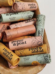 Tea Packaging, Cosmetic Packaging, Beauty Packaging, Print Packaging, Lip Balm Packaging, Organic Packaging, Packaging Design Tea, Product Packaging Design, Skincare Packaging