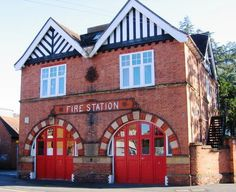 The Old Tonbridge Fire Station.  My dad was a volunteer fireman here in the 1960's and learned to drive and passed his driving test in a fire engine.