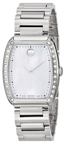 Amazon.com: Movado Women's 0606548 Concerto Stainless Steel Watch: Watches