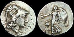 Esta moneda de plata se uso en la Grecia antigua. Cien de estas compraban a un esclavo joven en la Grecia antigua.