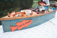 Fish & Chips Boat fr