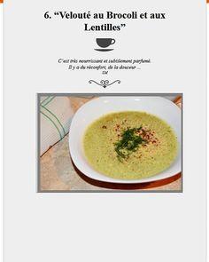 Bon Appétit!  #velouté au brocoli délicieux  10 recettes  de soupes & veloutés 100% végétales ici >> http://ift.tt/2DzGSBV  #recette