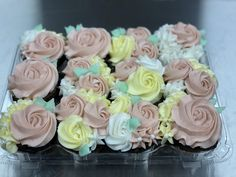 Custom Cupcakes, Cupcake Toppers, Desserts, Food, Tailgate Desserts, Deserts, Personalised Cupcakes, Essen, Dessert