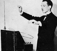 The theremin originally known as the ætherphone/etherphone, the reminophone or termenvox/thereminvox is an early electronic musical instrument controlled without discernible physical contact from the player.